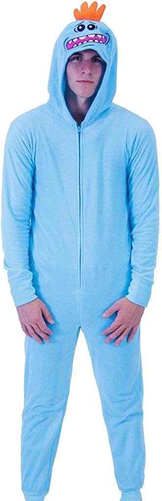 Rick and Morty Mr Medium Meeseeks Onesie with Butt Flap