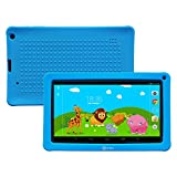 Contixo 9 Inch Quad Core Android 4.4 Kids Tablet, HD Display 1024x600, 1GB RAM, 8GB Storage, Dual Cameras, Wi-Fi, Bluetooth 4.0, Kids Place App & Google Play Store Pre-installed, 2015 May Edition, Kid-Proof Case (Blue)