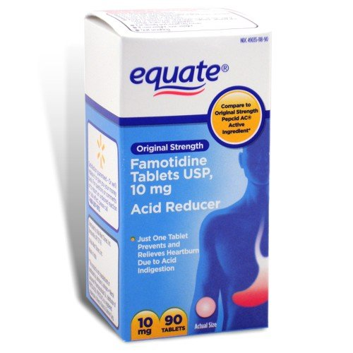 Equate - Acid Controller, Original Strength 10 mg, 90 Tablet
