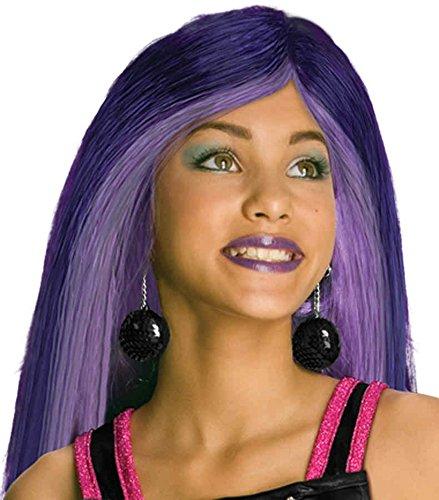 [UHC Spectra Vondergeist Wig Monster High Child Halloween Costume Accessory] (Spectra Vondergeist Girls Costumes)