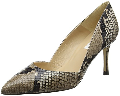 Bennett pri L De Beige Mujer natural Zapatos Elena Para Tacón k 5xxSq1wF