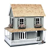 Dollhouse Miniature The Laurel Dollhouse by Corona by Corona/Greenleaf Steel Rule Di