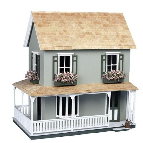Dollhouse Miniature The Laurel Dollhouse by Corona by Corona/Greenleaf Steel Rule Di by Corona/Greenleaf Steel Rule Di