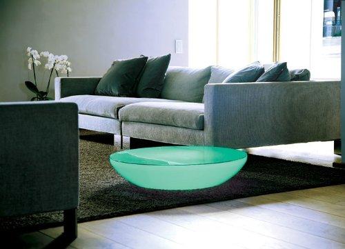 Couchtisch Lounge Variation Indoor LED Pro Wohnzimmertisch by Moree, Tischplatte:mit Glasplatte;Farbsteuerung:USB-Steuerung