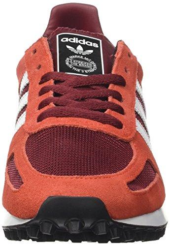 adidas Herren LA Trainer OG Sneakers Mehrfarbig  (Collegiate Burgundy/ftwr White/red)