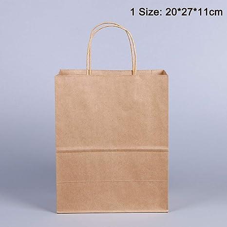 Bolsas de regalo de papel para fiestas, 10 unidades, papel ...