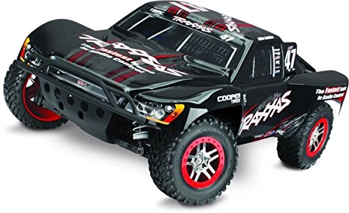 Traxxas 68086-4 Slash 4X4 1 10 Scale 4WD Short Course Truck with TQi 2.4GHz Radio and TSM Mike Jenkins