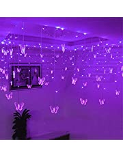 16 Led Butterfly Strings 8 Mode Fairy Light Strip, Perfect voor Kamer Tuin Muur Kerst Bruiloft Indoor/Outdoor Party Decoration (A)