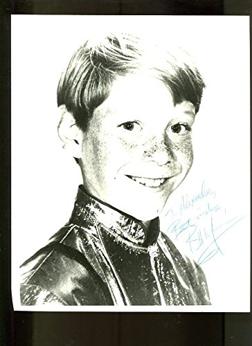 MOVIE PHOTO: Lost in Space 8x10 Promo- Headshot signed by Bill Mumy