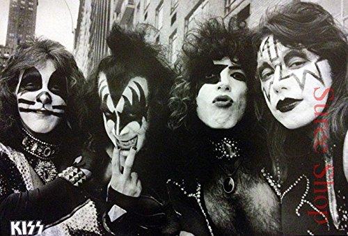 (J-4742 Kiss Band- Music Wall Decoration Poster#5 Size 24