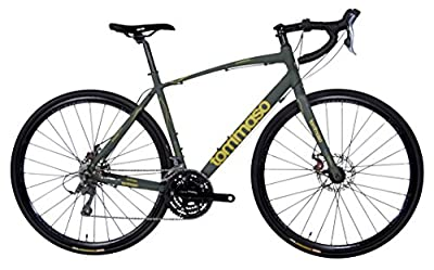 Tommaso Sterrata Adventure Road Bike w/ Mechanical Disc Brakes