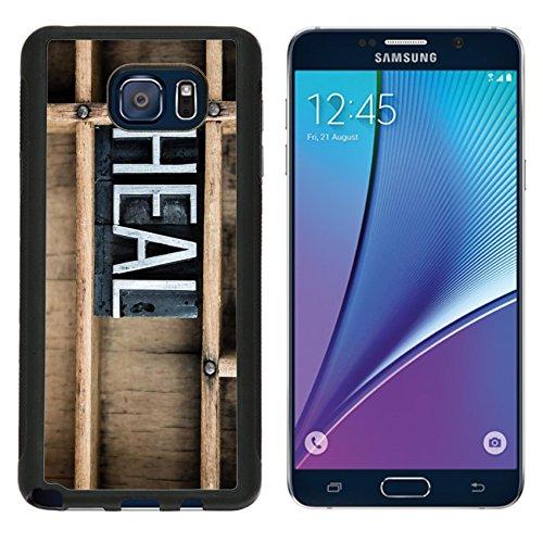 Luxlady Premium Samsung Galaxy Note 5 Aluminum Backplate