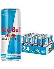 Red Bull Energy Drink, Sugar Free, 250ml (24 pack)