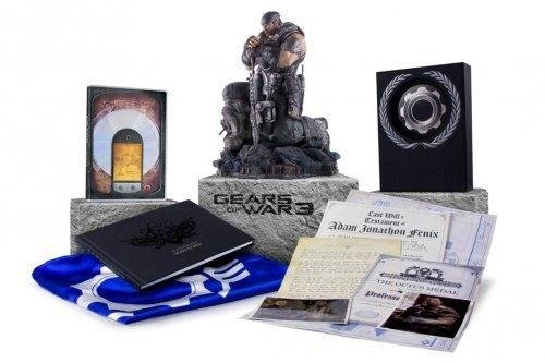 Gears of war 3 collectors edition marcus fenix statue for sale in.