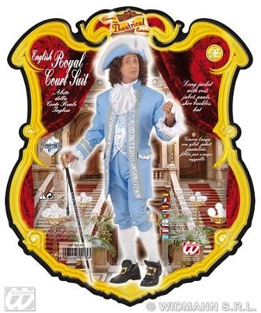 Traje de la Corte Real inglesa del 1800 Adulto Carnaval: Amazon.es: Juguetes y juegos