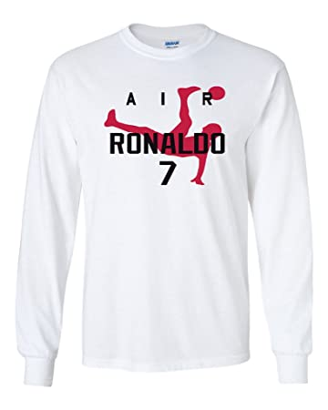 quality design ee11d 16e94 Amazon.com : KING THREADS Long Sleeve Cristiano Ronaldo ...