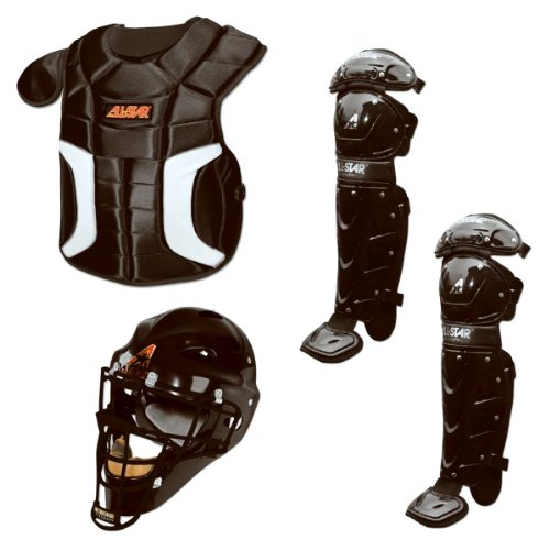 All-Star Player's Series Catcher's Set (Ages 12-16) - Black