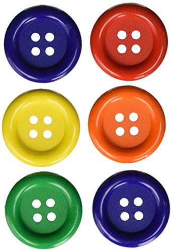 Favorite Findings Buttons (Blumenthal Lansing Favorite Findings Big Basic Buttons, 6/Pkg,)