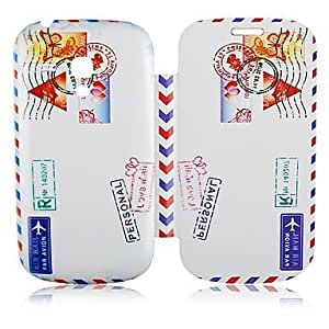 HJZ Stamp Pattern Leather Full Body Case for Samsung Galaxy S3 Mini I8190