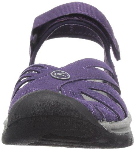 Grape Sweet Sandals Neutral Keen ROSE Women's Gray Et0qyw0Izx