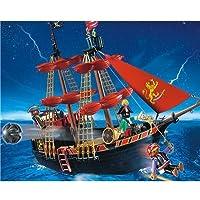 PLAYMOBIL Barco Pirata De Barba - Negr