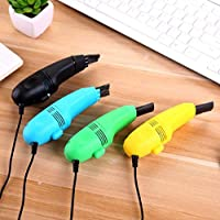 USB Vacuum Cleaner, Mini Vacuum Cleaner for Laptop Random Color Suitable for Home