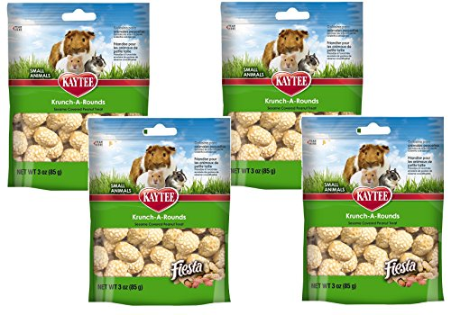 Kaytee Peanut - Kaytee Fiesta Krunch Arounds Small Animial Peanuts 3oz
