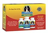 Winston's Joint System - For Medium Dogs from 35-99 Pounds - 100% Natural Whole Food Supplement for Canine Arthritis, Hip Dysplasia and Joint + Pain Relief - One Month Supply (35-99 Lbs)