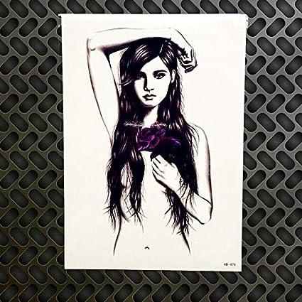 HXMAN 3pc 3d Destino Final Temporal Tatuaje Pegatina Sexy Mujeres ...