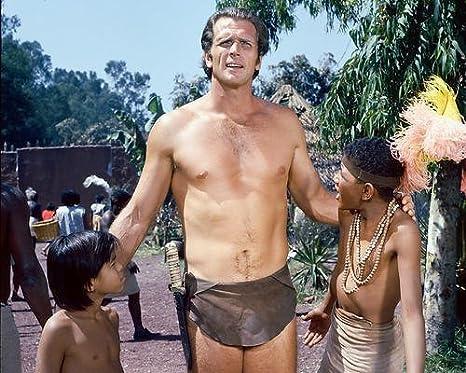 Tarzan con Ron Ely Manuel Padilla 10 x 8 fotografía de ...