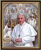 Pope Francis Portrait Custom Framed Art