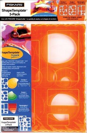 Fiskars 4975 ShapeTemplate 3-pack ()