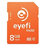 Eye-Fi Mobi 8GB SDHC Class 10 Wireless Memory Card to Deliver Camera Media to Apple iPhone/iPad or Android Devices Frustration Free Packaging