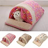 Pet Dog Cat Bed Puppy Cotton Pet Nest Sleeping Warm Cushion Pad House Hut Basket Kennel Sofa Bed
