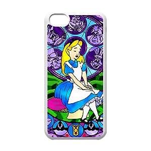 iphone5c phone case White Fairy Tale Princess YYR8380474
