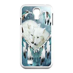 C-EUR Customized Wolf Dream Catcher Pattern Protective Case Cover for Samsung Galaxy S4 I9500