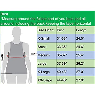 Neleus Women's 3 Pack Compression Base Layer Dry Fit Tank Top: Clothing