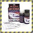 E-Tech Car Glass Plastic Light Lens Tail Light Smoke Black Tinting Tint Spray...