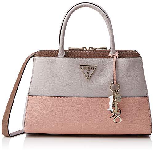 White Guess Multi Handbags Satchel Girlfriend stone Maddy Woman RwUZqv