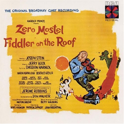 Jerry Bock, Sheldon Harnick, Zero Mostel, Julia Migenes   Fiddler On The  Roof (1964 Original Broadway Cast)   Amazon.com Music
