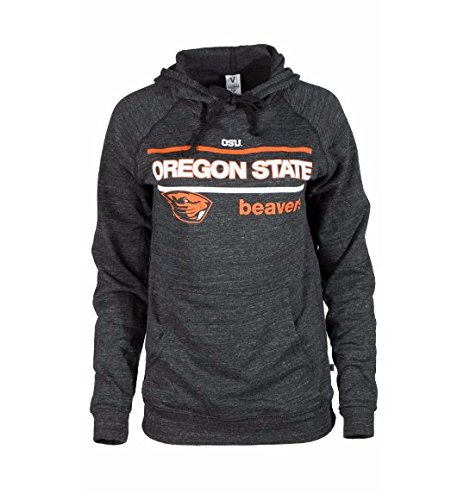 Official NCAA Oregon State University Beavers OSU Benny Beaver Women's Buttersoft Tri- Blend Hoodie