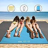 Best Beach Mats - HAMSWAN Beach Blanket, Waterproof and Sand Free Beach Review