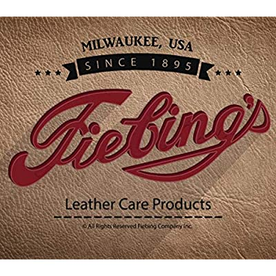 Fiebing's Acrylic Resolene Leather Finish Protectant - 4 Ounces: Home & Kitchen
