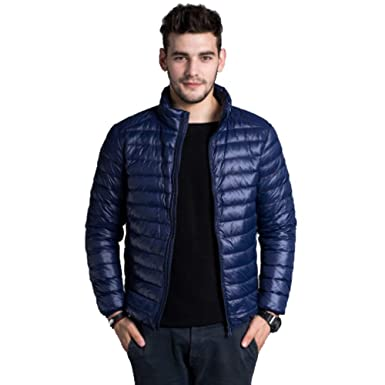 Amazon.com: Queenmore - Chaqueta de plumas impermeable para ...