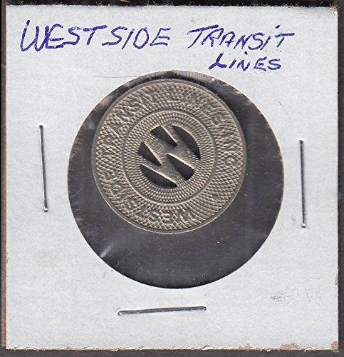 Westside Transit Lines transit token Louisiana