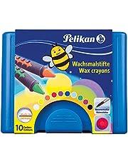 Pelikan 723155 - Waskrijt 655/10 in een schuifbak, verfbaar