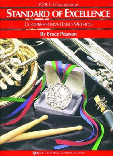 W21TP - Standard of Excellence Book 1 Trumpet - Book Only cover