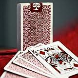 Mazzo di carte Bordered Dealers by Daniel Madison & Ellusionist - Red - Mazzi Ellusionist - Carte da gioco - Giochi di Prestigio e Magia