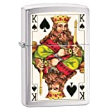 28489 King of Spades Double Sided Brush Chrome