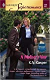 img - for A Mother's Vow : Women in Blue (Harlequin Superromance No. 1260) book / textbook / text book